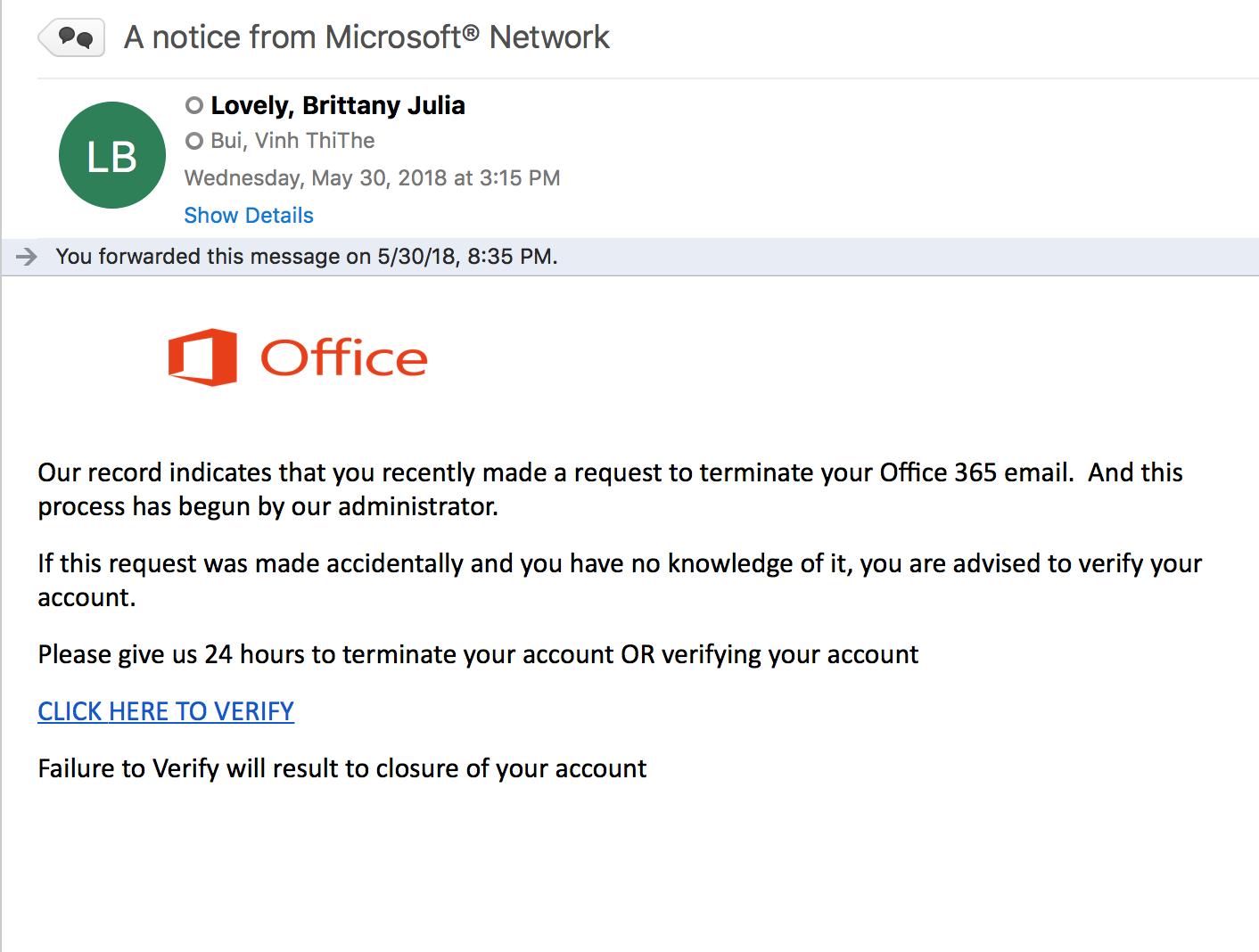 Phishing | TFREC Admin | Washington State University