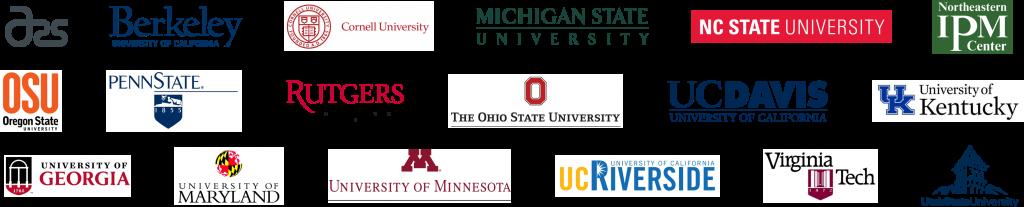 logos of bmsb cooperators