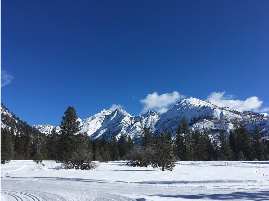 Nordic Ski trails in Leavenworth
