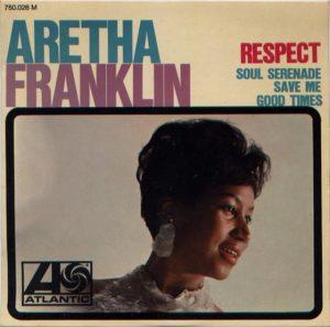 Aretha Franklin Respect album cover